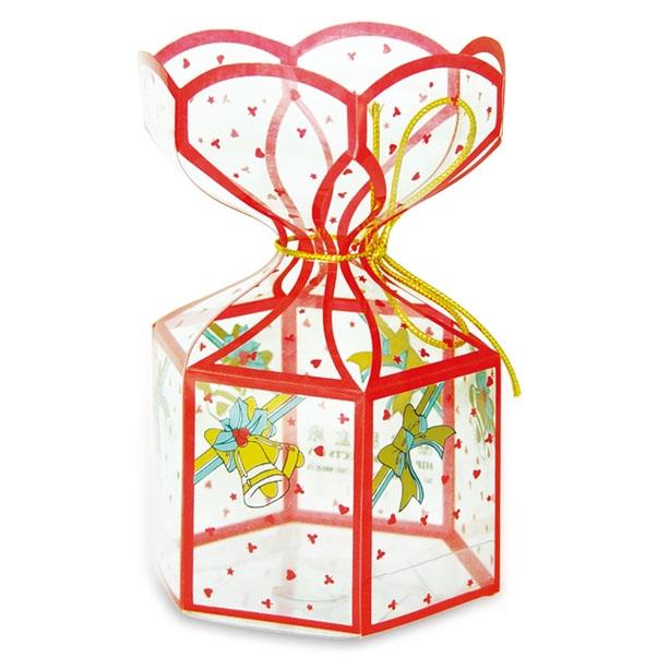 Transparent packing box