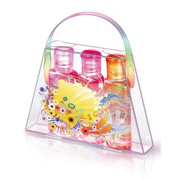 Cosmetic transparent box