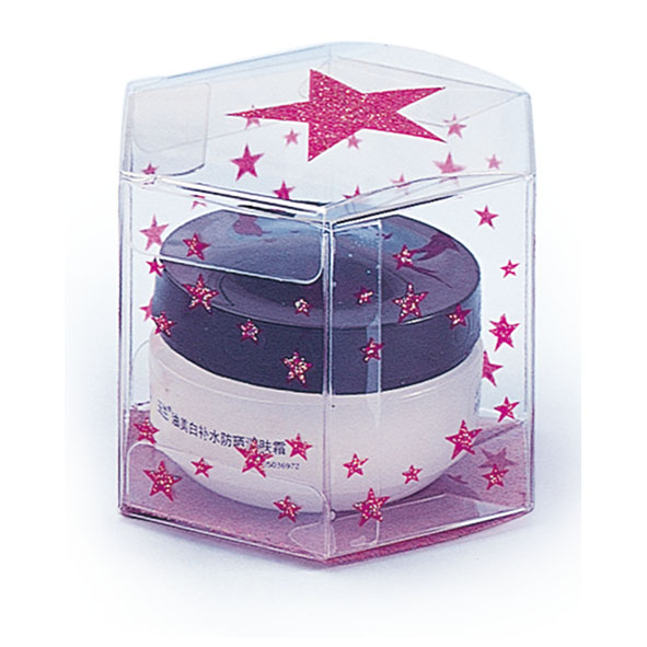 Transparent packing box