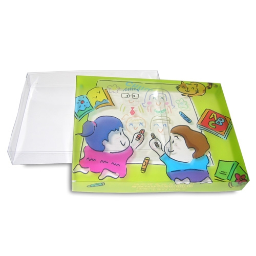Stationery transparent box